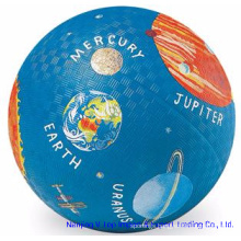 Blue Color 8.5 Inch Rubber Playground Balls