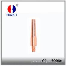 M6 * 45 Schweißen Stromdüse für Panasonic350A MIG-Fackel