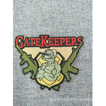 Customized Embroidery Patch Garment Woven Fabric Patch