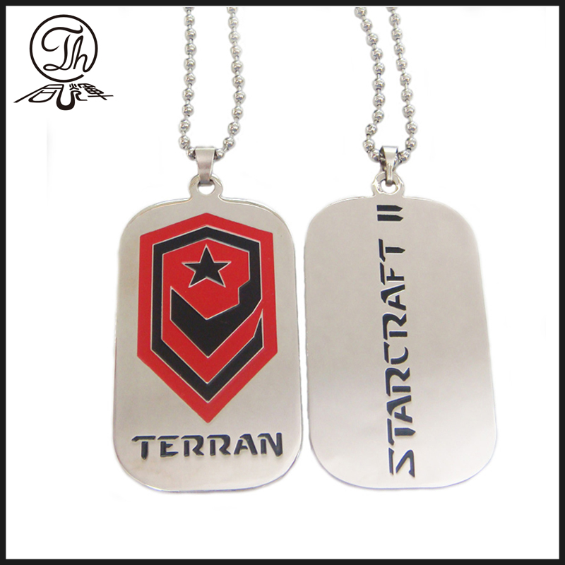 alloy dog tag