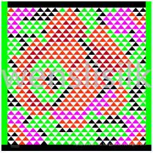 Шелковый шарф (201474)