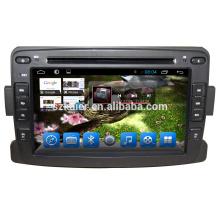 Usine OEM 7 '' 2 din Voiture Lecteur DVD Audio Radio pour Renault Logan / Sandero / Duster 2014 2015 2016 avec USB SD Carte GPS Navi OEM