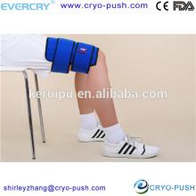 Le gel froid réutilisable de genou enveloppe la thérapie de soulagement de douleur de muscle de courroie d'enveloppe