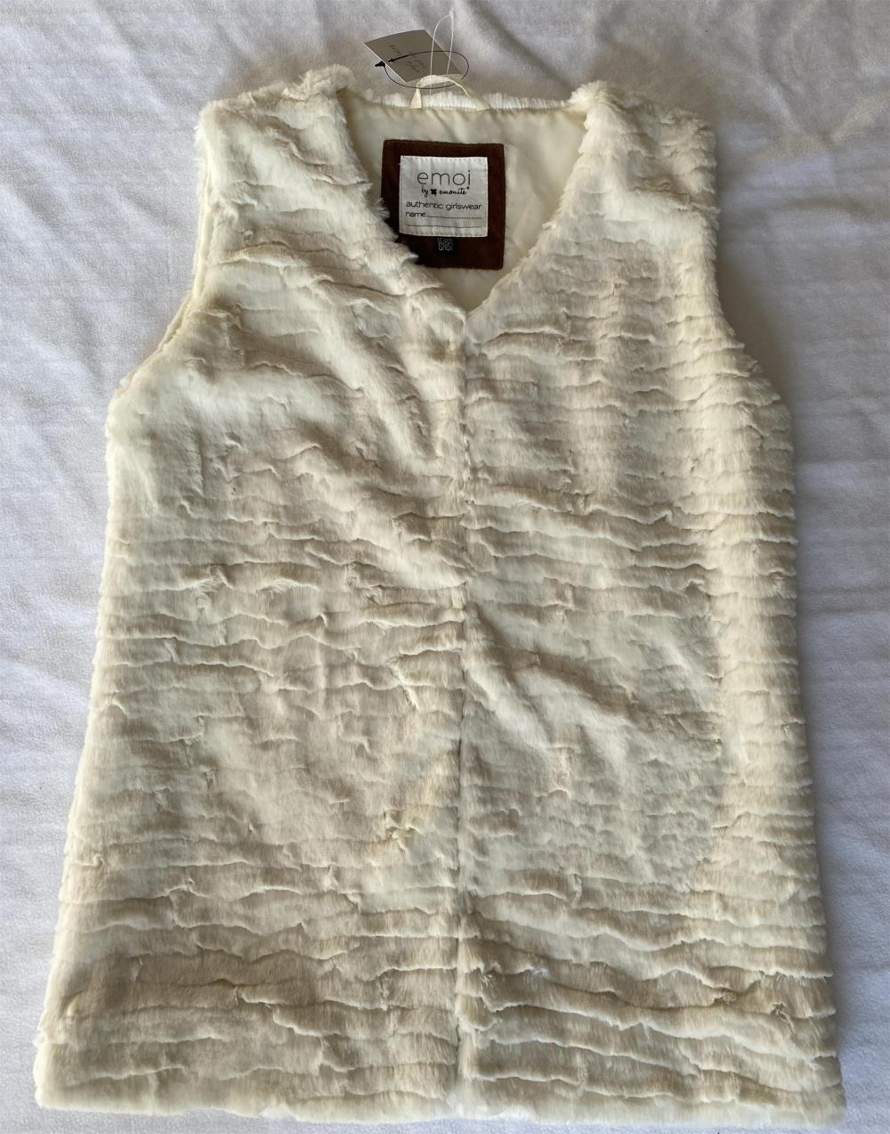 Fake Fur Vest For Girls