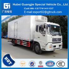DONGFENG Tianjin 4*2 180hp refrigerated cold room van truck hot sale