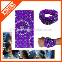 Outdoor printed tube seamless custom head bandana