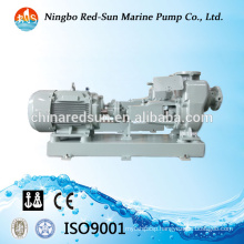 Horizontal sing stage marine bilge water pump