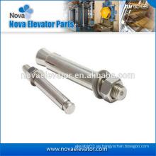Q235 Steel Elevator Expansion Anchor Bolt M12, M16, M24 Precio de perno