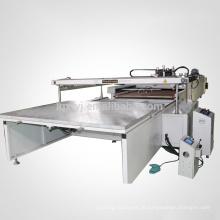 3/4 impressora de tela de seda automática