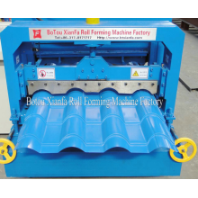China for Antique Glazed Tile Roll Forming Machine Beautiful Glazed Tile Roll Forming Machine export to Spain Importers