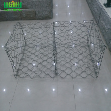 Galvanized iron wire mesh gabion with CE-certificate