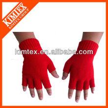 2015 Unisex al por mayor acrílico personalizado tricotado guantes de beber