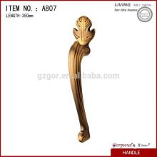 Luxury alloy handle for wood door