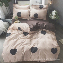 polyester and printed bedding set