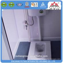 Best selling commercial steel door prefabricated toilet