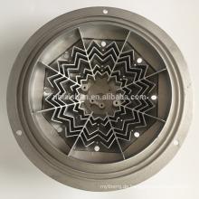 Lampenteil CNC-Bearbeitung Aluminium-Druckguss-Kühlkörper