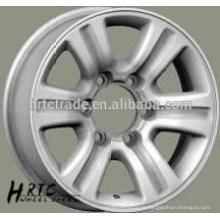 Roue en alliage HRTC à vendre jante sport 16 * 7.0wheels jante de roue à rayons 16 pouces