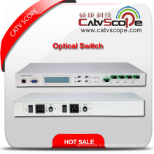 Высокоэффективный защитный переключатель оптического кабеля 1xn