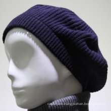 Factory supply Winter knit wholesale cashmere knitted beanie hat