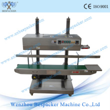 Vertical Automatic Plastic Bag Sealer Machine Sealing