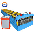 PLC Controlling Galvanized Panels Roll Forming Machine