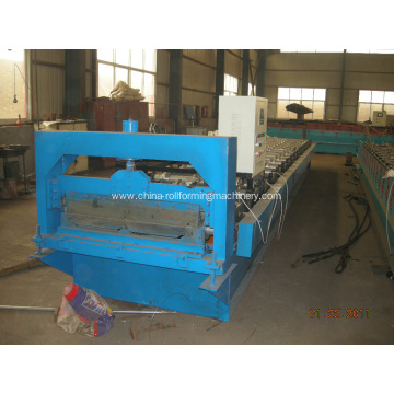 Hot Sale for for Roof Tile Roll Forming Machine 760 Arch roof roll forming machine export to Latvia Manufacturer