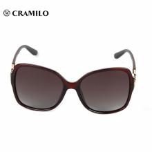 Nouveau design bas prix vintage lunettes de soleil ovales