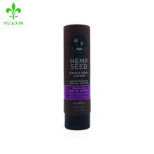 207ml flip-cap forme crème pour la crème corps lotion tube de maquillage