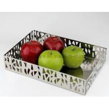 Plat à fruits en acier inoxydable (SE2545)