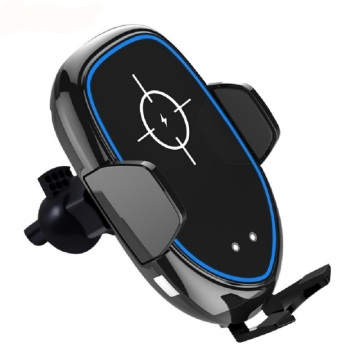 Support de chargeur de voiture sans fil Samsung Iphone QI
