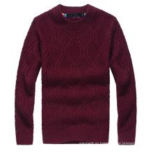 Мужская мода Пуловер Новый вязаный свитер