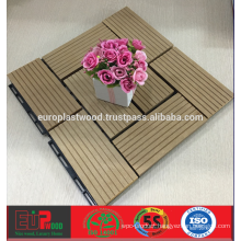 Cheap price for WPC decking tile for outdoor use, 100% recycleable,UV-resistant,Waterproof Dimentional stable, easy installation