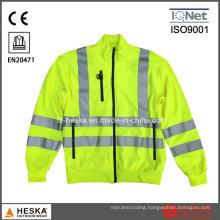Yellow Highway Police Reflective Jacket