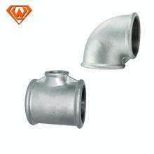 accesorio de tubería de hierro maleable galvanizado galvanizado