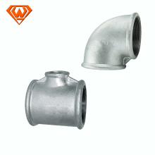 galvanized threaded malleable iron pipe fitting
