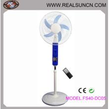 16 polegadas Solar DC Fan com controle remoto