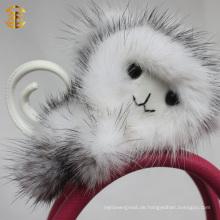 Fabrik direkten Versorgung Schlüsselring Affe Tier Pelz keychain