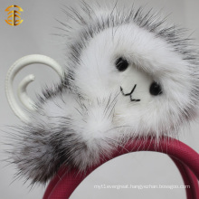 Factory direct supply key ring monkey animal fur keychain
