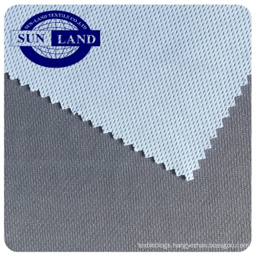 Chinese factory bamboo carbon polyester antibacterial dry fit knitting birdeye mesh fabric for sportswear