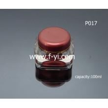 100ml Luxury Empty Cosmetic Glass Jar