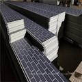 Кирпич Изолированные Металлические Стеновые Панели Для Сборного Дома