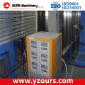 Fast Color Changing Powder Coating Line