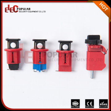 Elecpopular Bloqueo de seguridad pequeño tamaño pequeño para un disyuntor miniatura de un solo o varios polos