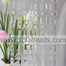 Pattern 25MM&50MM Crystal Beaded Strand Garland