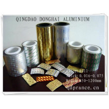 colored foil for pharmaceutical