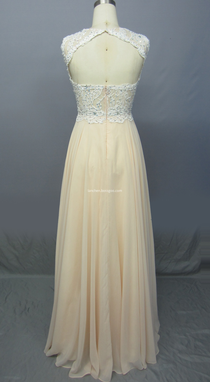 Maxi Prom Dresses back