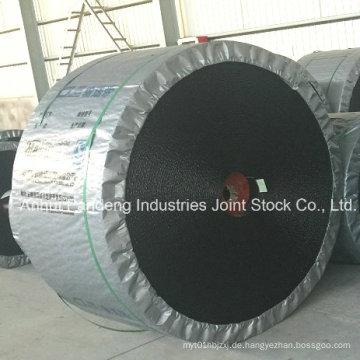 Gummi-Förderband / Ep-Förderband-Anwendung in der Kohlengrube