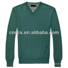 13STC54311 gentlemen v-neck uniform pullover sweater