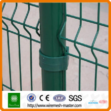 Common Pvc Coated wire mesh fence panel