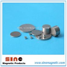 Imán SmCo de disco sinterizado de alta temperatura